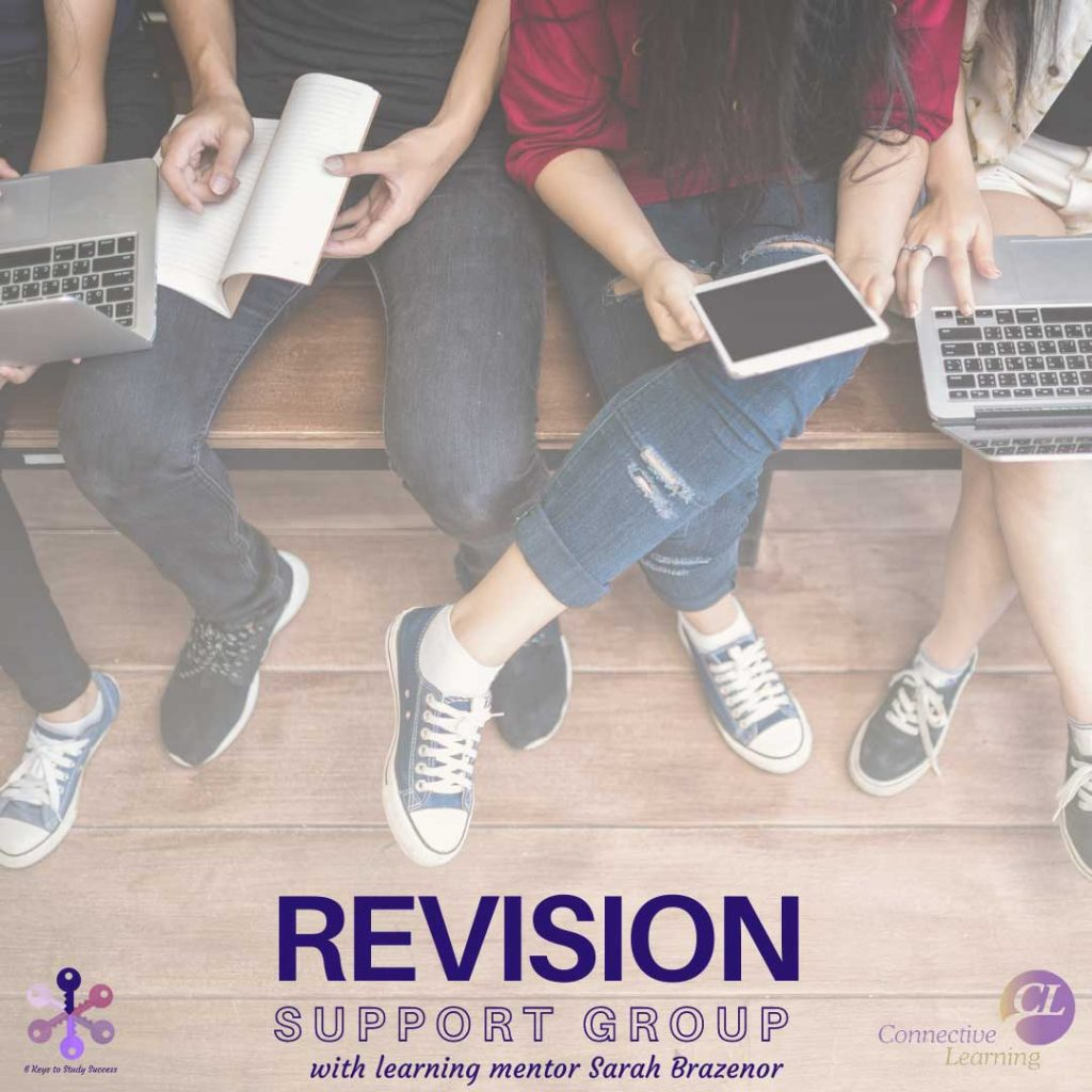 Revision tips, students part of a revision support group